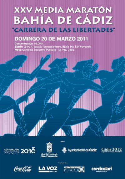 """Tacita y Media"". Media Maratón San Fernando - Cádiz 2011."